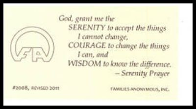 #2008 The Serenity Prayer - 10 cards