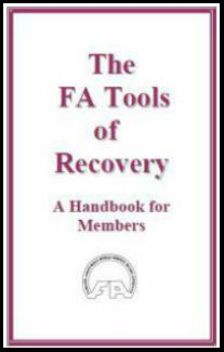 #5001 FA Tools of Recovery: A Handbook for Members