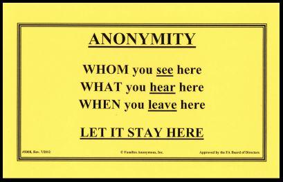 #5008 Anonymity