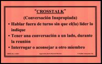 """#5009S """"Crosstalk"""" : Conversacion Inapropiada"""