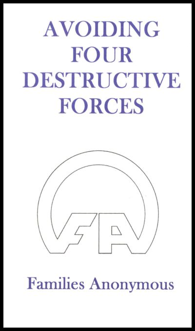 #5013 Avoiding the Four Destructive Forces