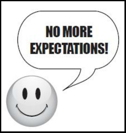 #1012 No More Expectations!