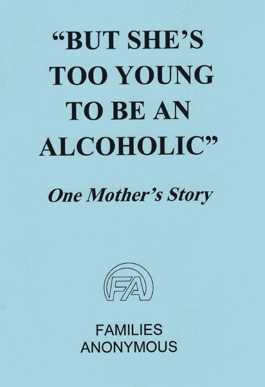 "#1021 ""But She's Too Young to be an Alcoholic…"""